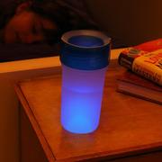 LiteCup, Świecący kubeczek niekapek Litecup niebieski