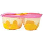 B.Box, Podwójny pojemnik na żywność b.box pomarańczowo-różowy