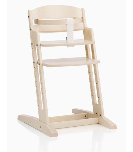Krzesło do karmienia Baby Dan DANCHAIR white-wash
