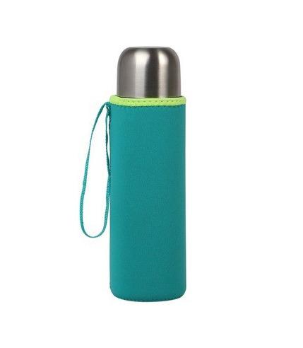 Kiokids, Etui na termos lub butelkę, neoprenowe niebieskie - KioKids