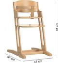 Krzesło do karmienia Baby Dan DANCHAIR naturalne