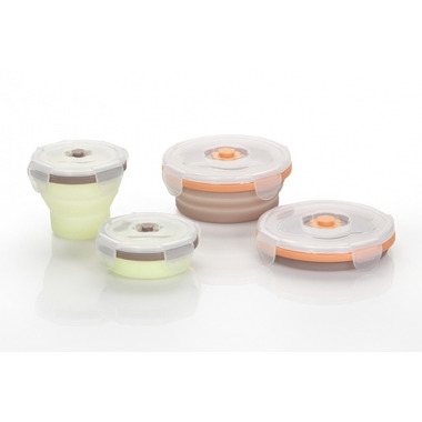 Babymoov, Babymoov sylikonowe pojemniki 2 x 240 ml + 2 x 400
