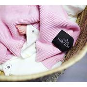 Lullalove, Bambusowy koc tkany róż