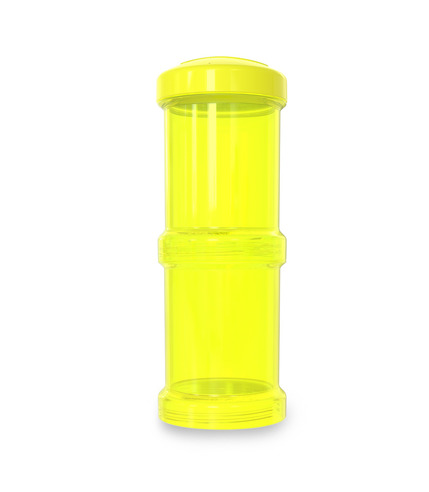 Twistshake, Pojemnik 2x100ml żółty