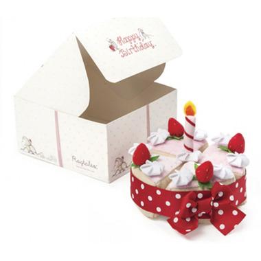 Ragtales, Pluszowy tort urodzinowy