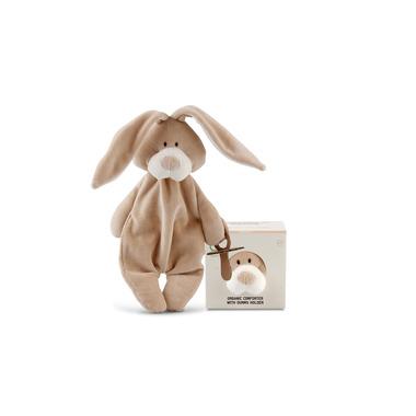 Wooly Organic, Classic Bunny, Zajączek Strażnik smoczka, 26 cm