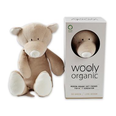 Wooly Organic, Classic Teddy, Miś przytulanka organiczna, 43 cm