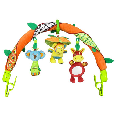 Uniwersalny łuk z trzema zabawkami