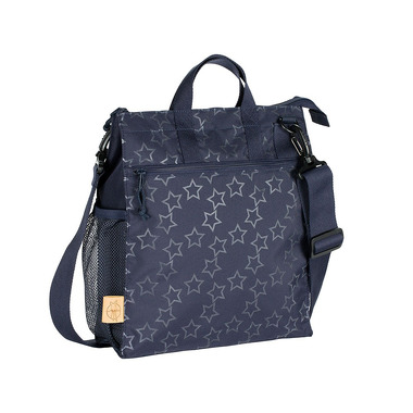Lassig, Casual Label Torba do Wózka Reflective Star navy