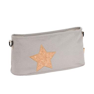 Lassig, Casual Label Organizer do Wózka Cork Star light grey