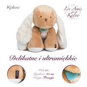 Kaloo, Szczeniaczek Karmelowy duży 45 cm kolekcja Les Amis