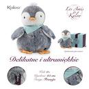 Kaloo, Pingwin Szary w pudełku 25 cm kolekcja Les Amis