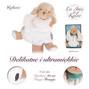 Kaloo, Szczeniaczek Karmelowy pierwsza przytulanka pacynka 30 cm kolekcja Les Amis