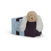 Kaloo, Szczeniaczek Karmelowy w pudełku 19 cm kolekcja Les Amis