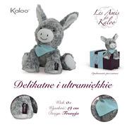 Kaloo, Osiołek Popielaty w pudełku 19 cm kolekcja Les Amis