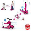 Scoot&Ride, sCOOTANDRIDE, Highwaykick 2w1 Jeździk i hulajnoga 1-5 lat Pink