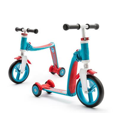 Scoot&Ride, sCOOTANDRIDE, Highwaybaby PLUS 2w1 hulajnoga i rowerek 1+ Blue