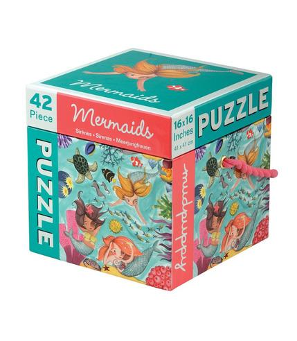 MUDPUPPY, Puzzle Syreny 42 elementy