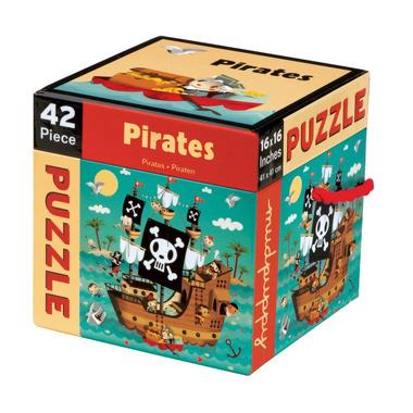 MUDPUPPY, Puzzle Piraci 42 elementy