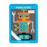 MUDPUPPY, Kolorowanka piksele Roboty