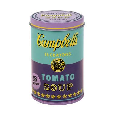 MUDPUPPY, Kredki świecowe Andy Warhol 18 sztuk