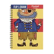MUDPUPPY, Zeszyt do rysowania potrójny Piraci