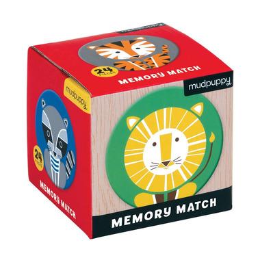 MUDPUPPY, Gra Mini Memory Geometryczne Zwierzęta