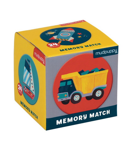 MUDPUPPY, Gra Mini Memory Środki transportu