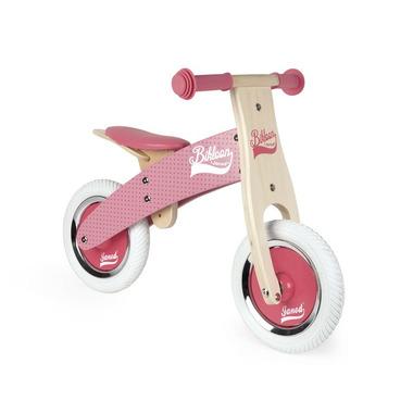Janod, Rowerek biegowy różowy Little Bikloon 2