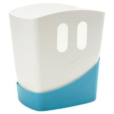 Ubbi, pojemnik 2 częściowy na zabawki kąpielowe - niebieski