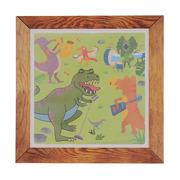 Tiger Tribe, Zestaw kreatywny obrazki wodne,motyw Dinozaury