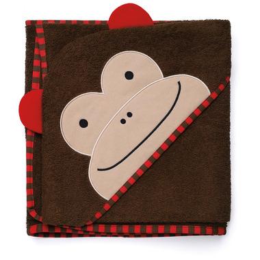 Skip Hop, ręcznik z kapturkiem - Małpka