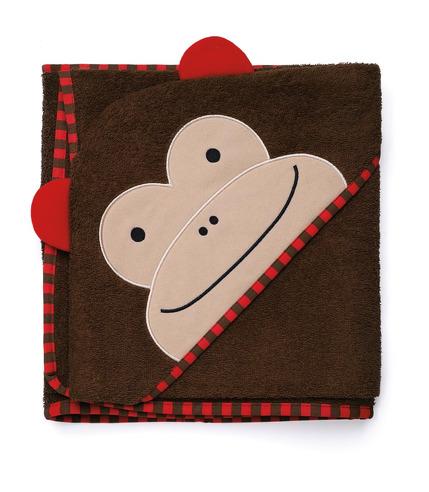 Ręcznik z kapturkiem  Skip Hop - Małpka