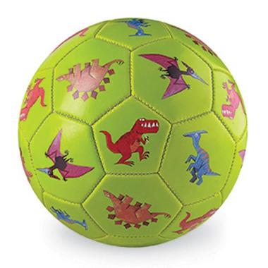 Crocodile Creek, Piłka futbolowa, 5.5 cala, 14 cm, wzór Dinozaury