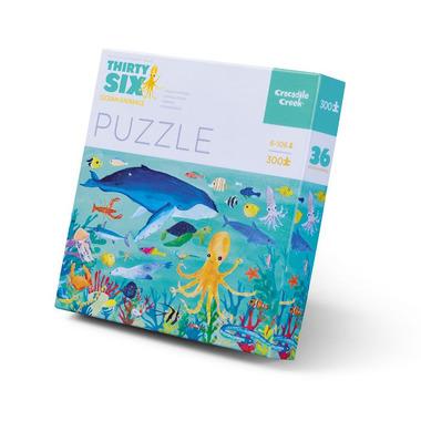 Crocodile Creek, Puzzle 300 el., motyw morskie zwierzęta