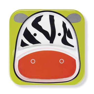 Skip Hop, talerz Zoo Zebra