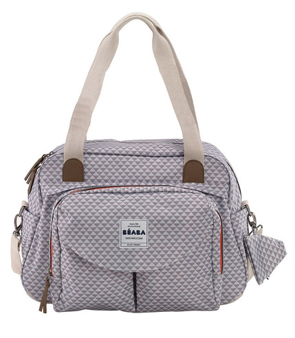 Beaba, Torba dla mamy Geneva SMART COLORS grey