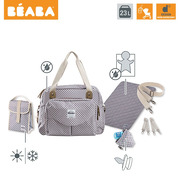 Beaba, Torba dla mamy Geneva SMART COLORS grey