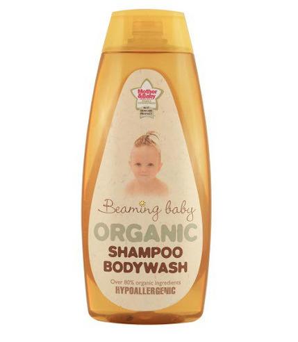 Beaming Baby, Hypoalergiczny Żel do Mycia Ciała i Włosów