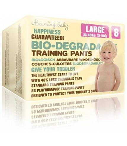 Beaming Baby, PANTS jednorazowe biodegradowalne pieluchomajtki, L, 23 szt.