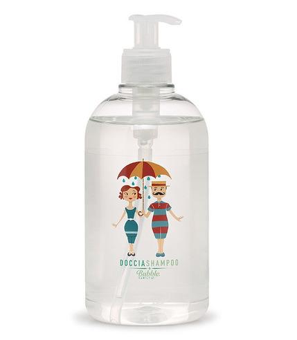 Bubble&CO, Organiczny Płyn do Mycia Ciała i Włosów dla Całej Rodziny 500 ml