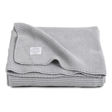 Jollein,  Koc Basic knit Light grey 75x100cm