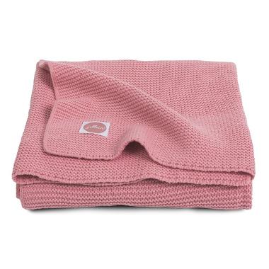 Jollein, Koc Basic knit Coral 75x100cm