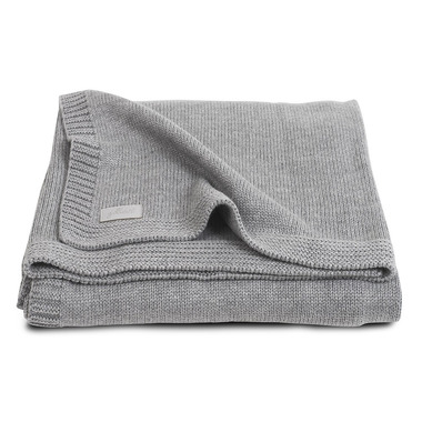 Jollein,  Koc Natural Knit Grey 75x100cm