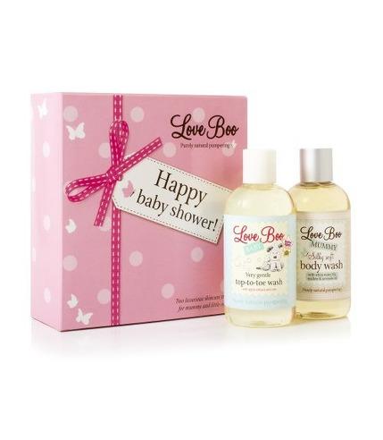 Love Boo, Luksusowy Zestaw na Baby Shower dla Mamy i Maluszka, 2 produkty