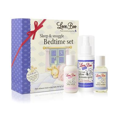 Love Boo, Sleep-Snuggle, Zestaw na dobry sen, 3 produkty
