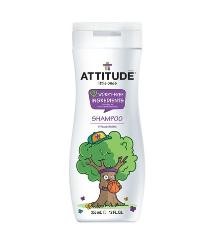 Attitude, 2 w 1 Szampon dla dzieci z odżywką Musująca Zabawa (Sparkling Fun) 355 ml
