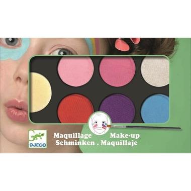Djeco, Farby do malowania twarzy SWEET - 6 kolorów