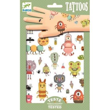 Djeco, Tatuaże POTWORKI