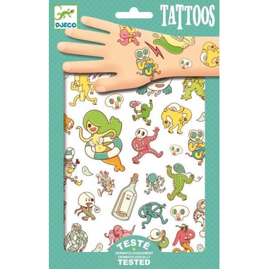 Djeco, Tatuaże ZWARIOWANY ŚWIAT